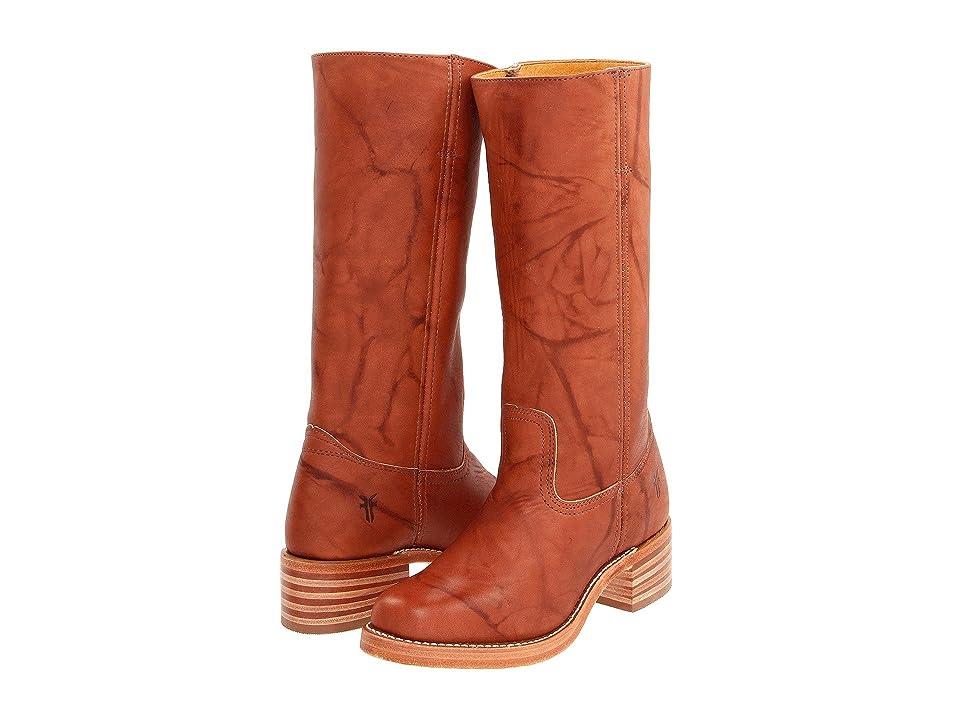 Frye Campus 14L (Saddle Leather) Cowboy Boots