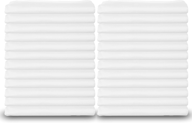 Albuquerque Mall Standard Size White Pillowcases Bulk Weight Heavy Pack T-200 Virginia Beach Mall Qu