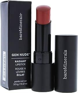 bareMinerals Gen Nude Radiant Lipstick, Panko, 0.12 Ounce