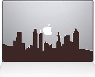 "The Decal Guru Philadelphia City Skyline Decal Vinyl Sticker, 15"" MacBook Pro (2016 & Newer Models), Brown (2313-MAC-15X-BRO)"