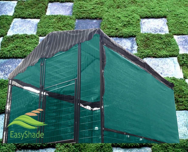 Easyshade Green Windscreen Sunbloker Sidewalls Dog H half Max 89% OFF Kennel for
