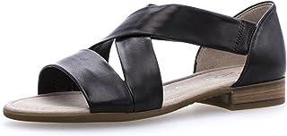 Gabor Comfort Sport Sandalen in grote maten, zwart 82.761.27 grote damesschoenen