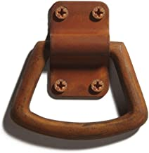 Casa Hardware Conley Cast Iron Ring Pull - Rust