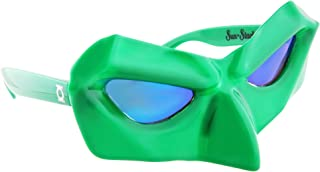 Sun-Staches Costume Sunglasses Green Lantern Party Favors UV400