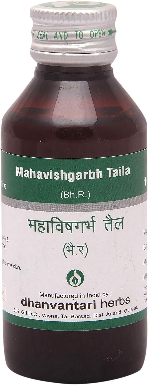 Save money Dhanvantari Mahavishgarbh Our shop most popular Taila-100 Ml