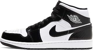 Nike - Air Jordan 1 da uomo, Mid SE, 852542 105, bianche, viola e nere