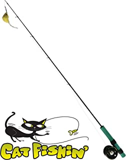 Cat Fishin`: The Toy with Lasting Allure. The Ultimate Interactive Toy for The Health and Well-Being of Your Cat