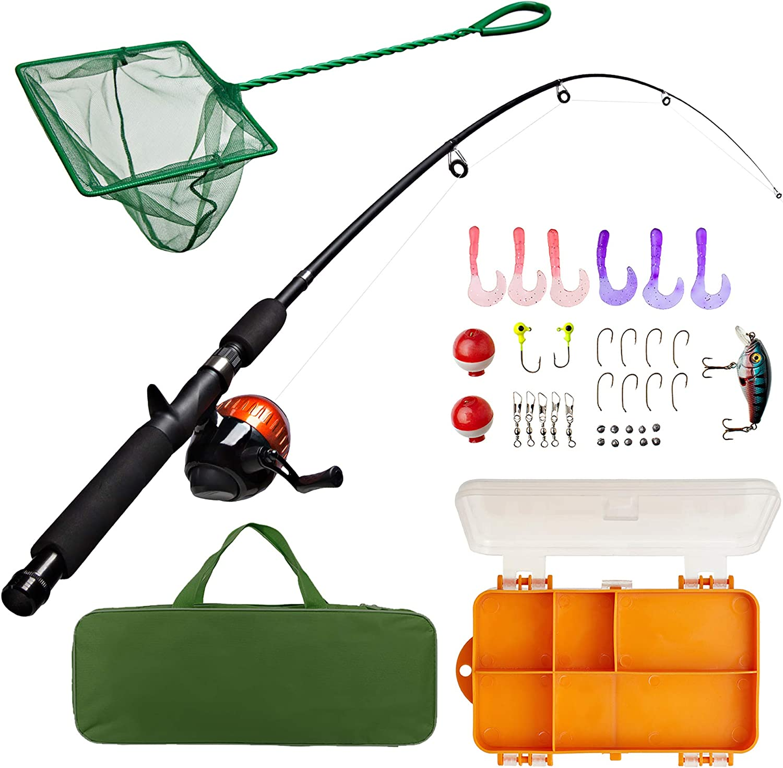 shakespeare youth fishing kit