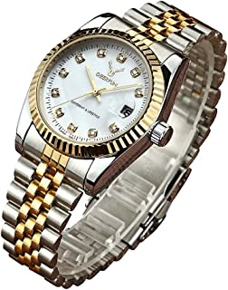 Fashion Luxury Stainless Steel Calendar Diamond Luminous Waterproof Sports Women Or Men Quartz Watch