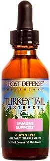 Host Defense - Turkey Tail Mushroom Extract, Naturally Supports Immune Response, Non-GMO, Vegan, Organic, 60 Servings (2 Ounces)