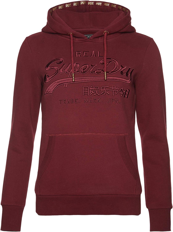 Superdry Vintage Logo Premium Embroidered Hoodie