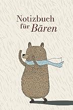 A5 Journal, Notizbuch für Bären, niedliches Bärenmotiv für Freunde von Tieren, Geschenk für Kinder, Freunde und - Bären!: ...