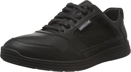 Mephisto P5119492 - Hauszapatos de Piel Hombre, Color negro, Talla 45 EU