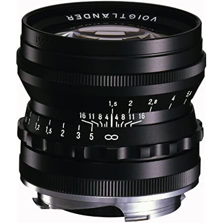 VoightLander 単焦点レンズ NOKTON 50mm F1.5 Aspherical VM ブラック NOKTON 50/1.5 VMBK
