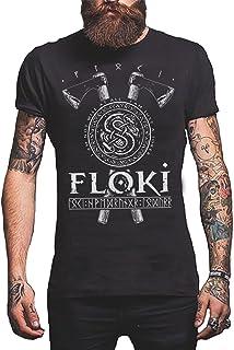 Floki - Loki Viking T-Shirt Norse Gods Men's Shirt Screen Printed