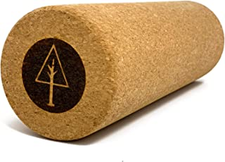 RAWLOGY Ultra-Firm Cork Massage Roller for Myofascial Release and Tension Relief || Made from Eco-Friendly Recycled Cork