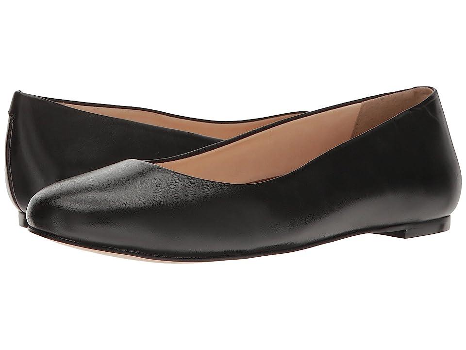 Retro Vintage Flats and Low Heel Shoes Walking Cradles Bronwyn Black Soft Maia Womens Flat Shoes $99.95 AT vintagedancer.com