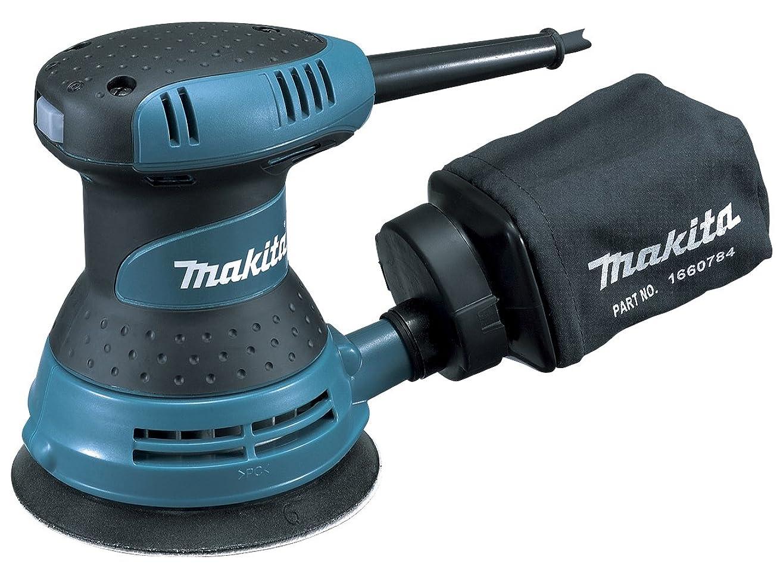 積極的にニンニクシンジケートマキタ(Makita) ランダムオービットサンダ ペーパー寸法 125mm BO5030