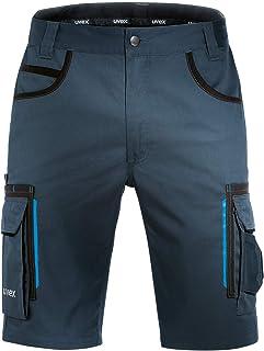 comprar comparacion Uvex Tune-Up Pantalones Cortos de Trabajo | Pantalón Cargo | Bermudas con Multi - Bolsillos | Shorts Laboral | Grises - Ne...