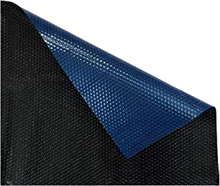 Solarcap Solar Swimming Pool Cover Bubble Blanket Cover 500 Micron Outdoor Garden 10.5mx4.2m Blue Black
