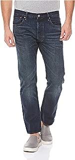 Levi's Men's Ljeans Levi's Straight Jeans for Men - Dark Blue Denim