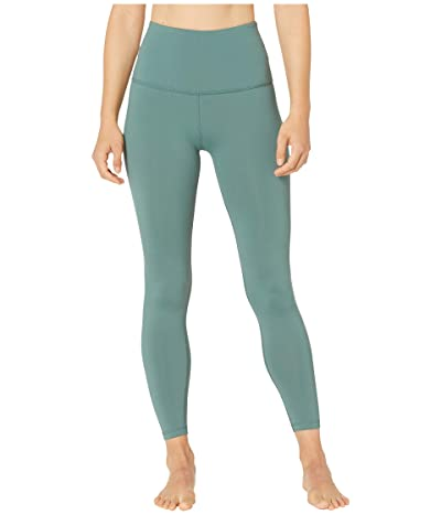Beyond Yoga Sportflex High-Waisted Midi Leggings (Wild Sage) Women