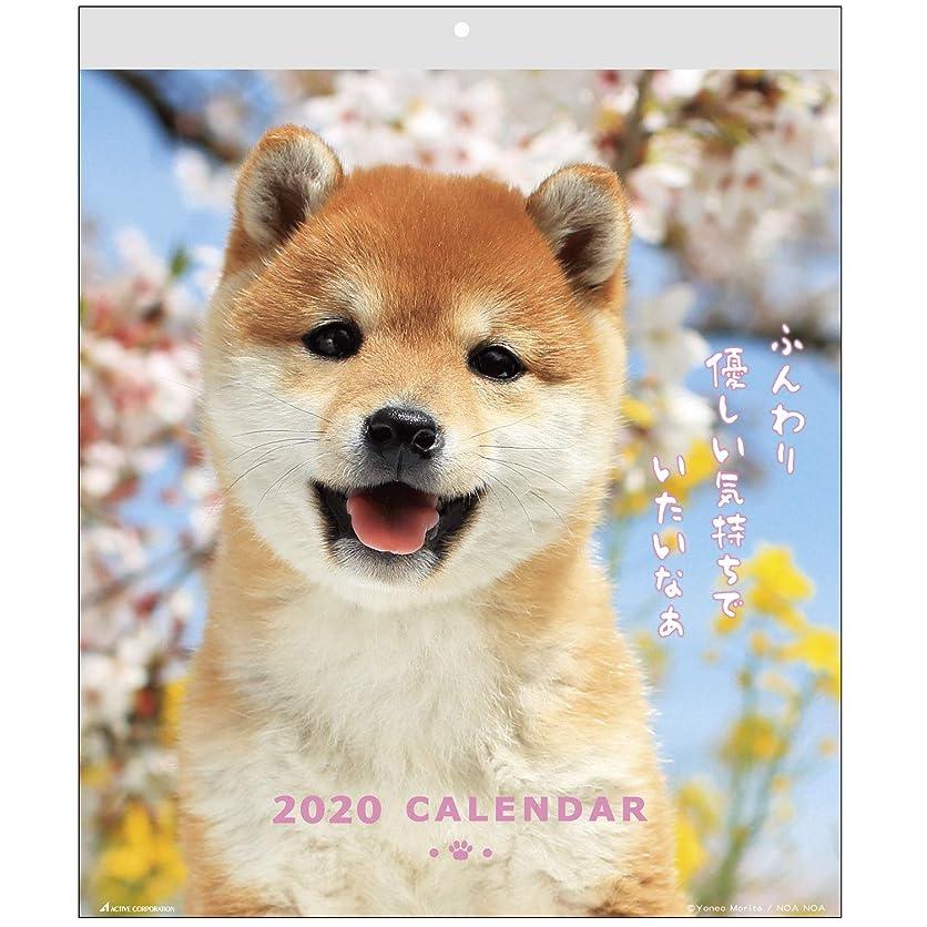 平日仮定、想定。推測粗いアクティブコーポレーション 2020年 カレンダー 犬 壁掛け DOGウォール ACL-01