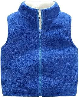 Children Vest Fleece Turtleneck Clothes for Kids Waistcoat Warm Boys Sleeveless Vest Teenager Thick Top Vest