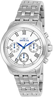Invicta Women's 21653 Specialty Analog Display Swiss Quartz Silver-Tone Watch