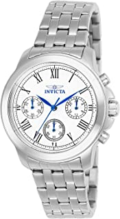 Invicta Women's White Dial Stainless Steel Band Watch - IN-21653