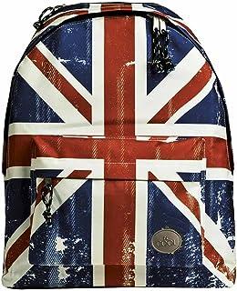 Mochila deportiva Busquets Union Jack con cremalleras reforzadas y ergonómica