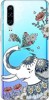 Oihxse Funda Dibujos Animal Lindo Compatible XiaomiMixAlpha Carcasa Transparente Clear Silicona TPU Gel Suave Case Ultra...