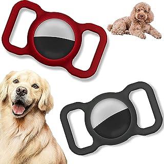 $20 » GOOCO 2 Pack Silicone GPS Finder Dog Cat Collar Pet Loop Holder, Adjustable Lightweight Portable GPS Finder Case Silicone ...