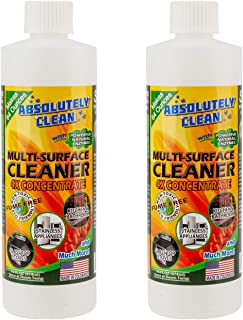 Amazing Multi-Purpose Cleaner - Natural Based Ingredients - Powerful, Natural Enzymes Make Cleaning Easy - Fume Free - USA Made (2-Pack 16oz Concentrate Bottle)