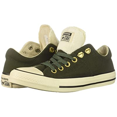Converse Chuck Taylor All Star Madison Ox (Utility Green/Natural Ivory/Black) Women