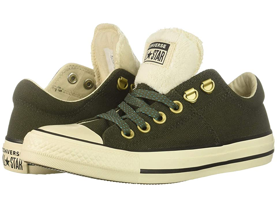 b1d21e41ecbab7 Converse Chuck Taylor All Star Madison Ox (Utility Green Natural  Ivory Black) Women s Lace up casual Shoes