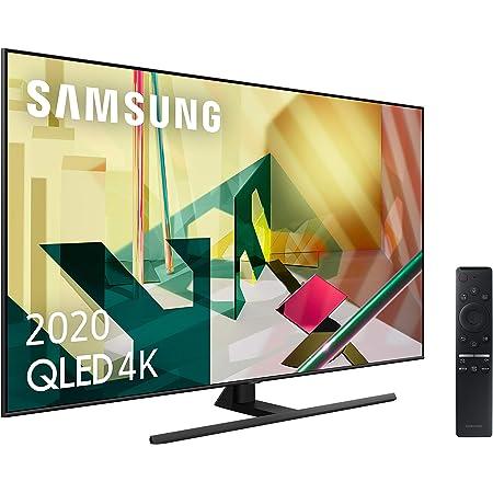 """Samsung QLED 2020 65Q70T - Smart TV de 65"""" 4K UHD, Inteligencia Artificial, HDR 10+, Multi View, Ambient Mode+, One Remote Control y Asistentes de Voz Integrados, con Alexa integrada"""