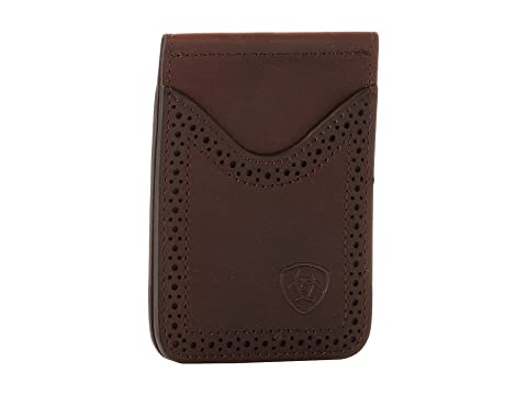Money Ariat Perforado Ariat Clip Copper Dark Edge Shield fqfTFx