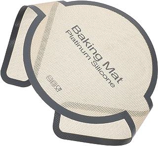 HEMOTON Tapis de Cuisson Longue Poignées Néerlandais Four Pain Tapis Pâtisserie Tapis Roulant pour Plus Doux Plus Sûr Plus...