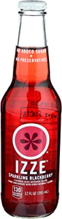 Izze, Juice Sparkling Blackberry Single, 12 Fl Oz