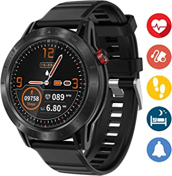 mykit Waterproof Fitness Watch with Heart Rate Monitor