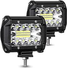 AMBOTHER LED Pods Light Bar 4-Inch 120-Watt