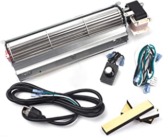 Replacment Fireplace Blower Kit for Desa Tech, FMI, Vanguard, Vexar, Astria Fireplace, GA3560A GA3700 GA3650 GA3750A BK BKT Fireplace Blower Fan Kit for Comfort Flame, Comfort Glow
