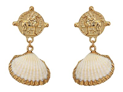 SHASHI Oceanfront Earrings (Gold) Earring
