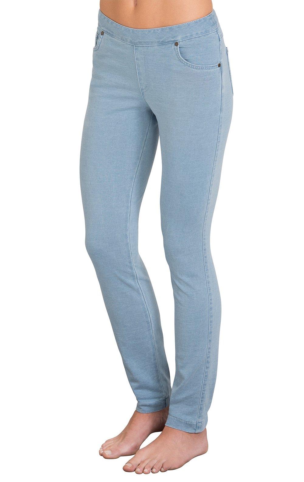PajamaJeans Womens Skinny Stretch Clearwater