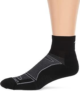 Darn Tough Vermont Men's 1/4 Merino Wool Sock Light Cushion Athletic Socks