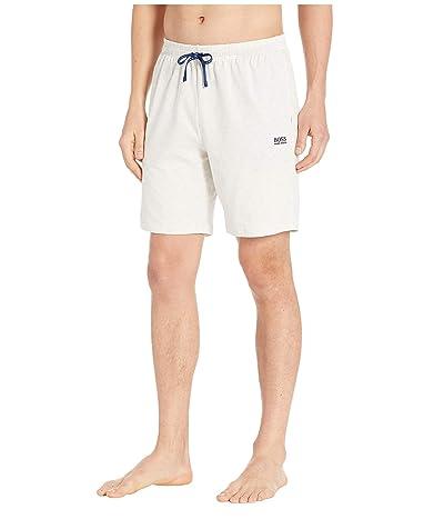 BOSS Hugo Boss Stretch Cotton Lounge Shorts (Grey 1) Men