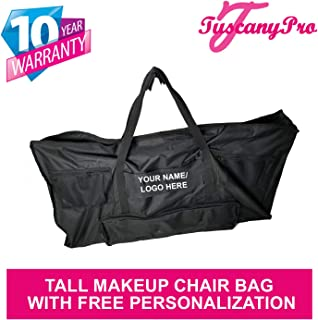 TuscanyPro Makeup Artist Chair CARRY BAG ONLY-Your Name Printed on this Bag Too!!