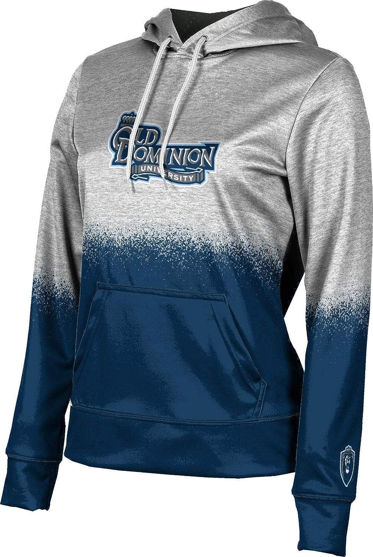 Old Dominion University Girls' Pullover Hoodie, School Spirit Sweatshirt (Spray Over)