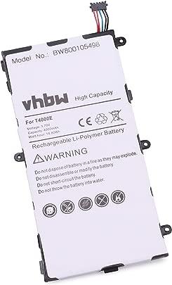 vhbw Li-Polymer Akku 4000mAh  3 7V  f r Tablet  Pad  Netbook Samsung Galaxy Tab Kids  Tab 7 0  SM-T210  SM-T2105  SM-T210R  SM-T211 wie T4000E